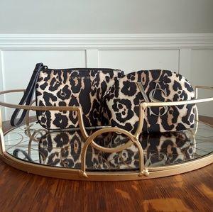 Victoria's Secret Cheetah Coin purse & Makeup Bag